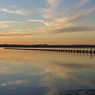 Soft sunset at Long Jetty by Tam  Locke