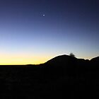 Venus rising over Kata Tjuta by Tam  Locke