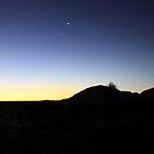 Venus rising over Kata Tjuta by Tam  Locke