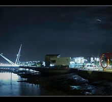 UFO over Newport by Tim Topping