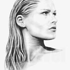 Ursula Andress portrait by wu-wei