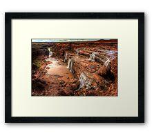 Grand Falls of Northern Arizona Framed Print