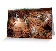 Grand Falls of Northern Arizona Greeting Card