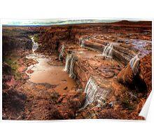 Grand Falls of Northern Arizona Poster