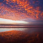 Mackerel clouds at sunrise by rossandcher