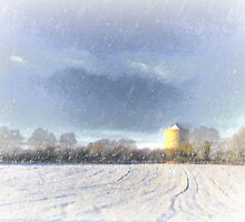 What A Winter Tower by ansonphoto