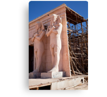Egypt: The awful truth Canvas Print