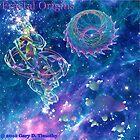 Fractal Origins - fractals over Tarantula Nebula by Gary Timothy