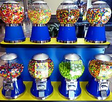 """""""What Ever Happen To The Days Of A Nickle Gum Ball Machine?"""" by franticflagwave"""