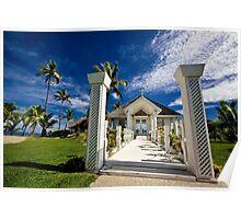 Wedding Chapel, Denarau Island, Fiji Poster