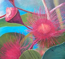 Gum Blossom - Macro view by Pam Wilkie