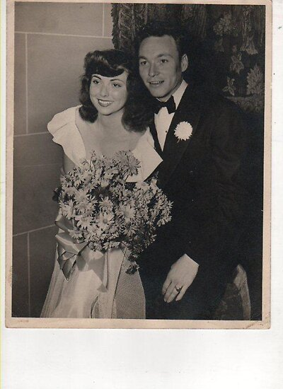 my mom and dad,1946 by califpoppy1621