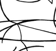 tuna tin cat Sticker