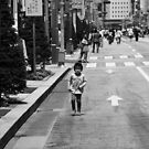 Child in Ginza by Alan Black