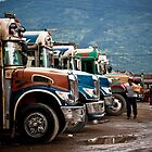 Buses, Antigua by morealtitude
