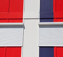 Red, White & Blue by phil decocco