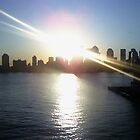 Manhattan Sunrise by Michael Degenhardt