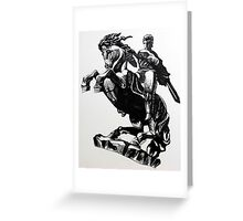 David on the Horse Greeting Card