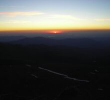 Mt. Evans Sunrise by JamNic