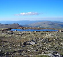 High Altitude Lake by JamNic