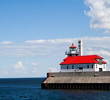 Duluth Harbor Lighthouse by NJorgensen