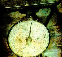 old scales by Deb Gibbons