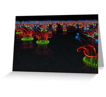 Waterlillies Of Tau Ceti Greeting Card