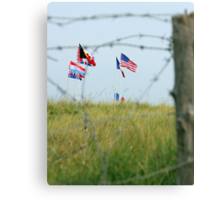 Utah Beach - Freedom Is Worth Fighting For Canvas Print
