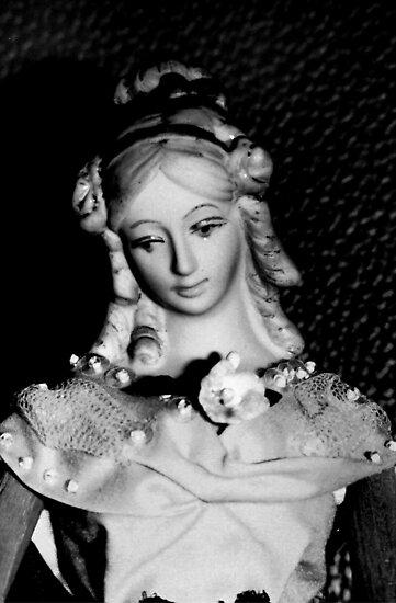 Antique replica Victorian Mannekin Bisque doll by patjila