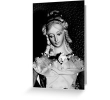 Antique replica Victorian Mannekin Bisque doll Greeting Card