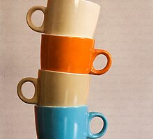 Coffee Cups by Priska Wettstein