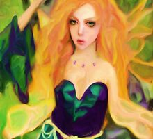 Fairy Goddess by Shelley Bain