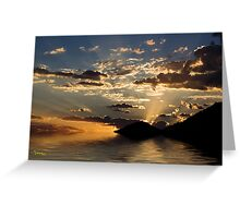 Rays Of Hope Greeting Card