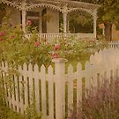 House with the white picket fence # 2 by Steve Silverman