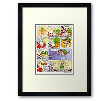 The Carrotty Kid: Chopsticks  Framed Print