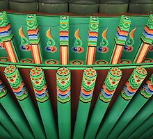 Pagoda • 1 by Linda Bianic
