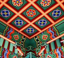 Detail Of Korean Pavillion 3 by JCBimages