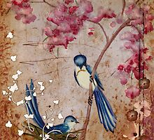 Love birds by Marie Magnusson