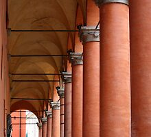 Arcades of Bologna by Segalili