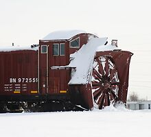 Snow Plow by kcrossphotos