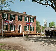 Cook's Tavern and Livery by Mike Oxley