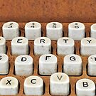 rusty typewriter by A.R. Williams