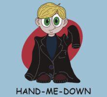 Hand me down: Blonde. by Gemma Clutton