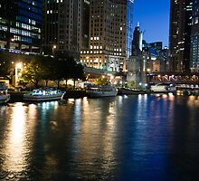 Chicago River by eegibson
