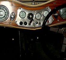 "1948 MG ""TC"" Sports Car Dashboard by Chris Chalk"