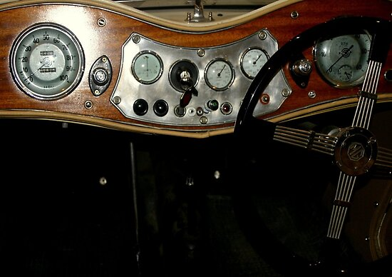 "1948 MG ""TC"" Sports Car Dashboard by Chris Chalk"