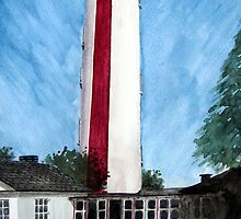"""Rising Above It All""  - Seaward Side of High Lighthouse, Burnham by Timothy Smith"