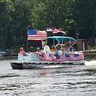 The Annual 4th of July Boat Parade by BarbL