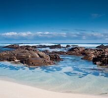 Moses Beach Wilyabrup Beach WA :  by Jonathan Stacey