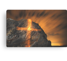 GLOWING GOLD  Canvas Print